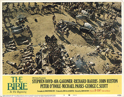 The Bible: In The Beginning... 1966 Original Movie Poster Drama