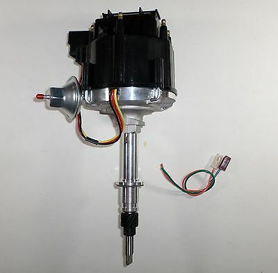 AMC/JEEP INLINE 6 232-258 6 CYLINDER BLACK HEI DISTRIBUTOR with 65,000 volt coil