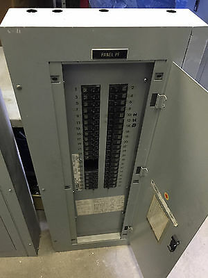 GE 225 AMP 120/208 VOLT 3 PHASE 42 CIRCUIT MAIN LUG Panel Board