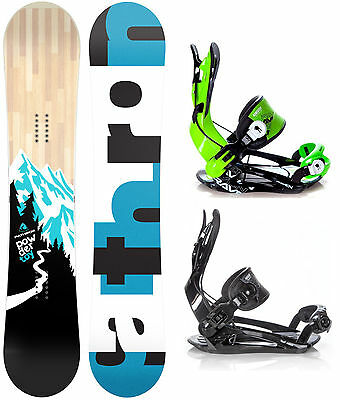 Snowboard Pathron Powder Toy + Raven oder Rage Fastec Bindungen M, L, XL - Neu!