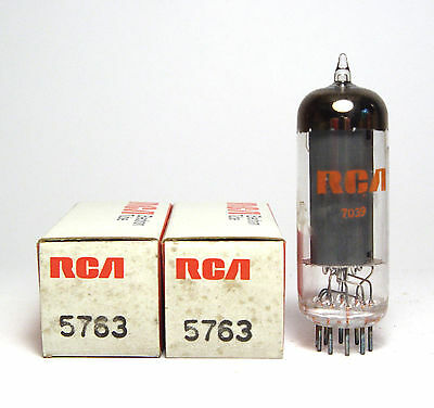2x RCA 5763 Röhre, Beam Power Tubes, NOS