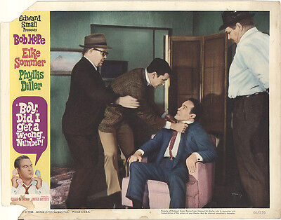 Boy, Did I Get a Wrong Number 1966 Original Movie Poster Comedy
