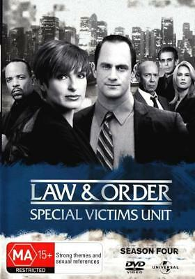 Law And Order Special Victims Unit SVU - Season 4 DVD R4 Brand New!