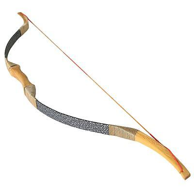 """30 lb 50"""" Handmade Traditional Archery Recurve Bow Longbow Wooden Hunting Bow"""