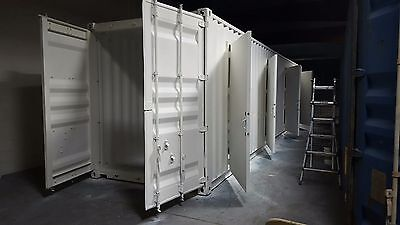 """40' FT ACHI  """"4 Units Storage"""" Container-320 Sqft - Brand New - Made in USA"""