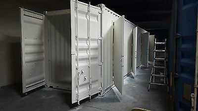 """40'  ACHI Modular """"4 Units Storage"""" Container - Brand New - Made in USA"""