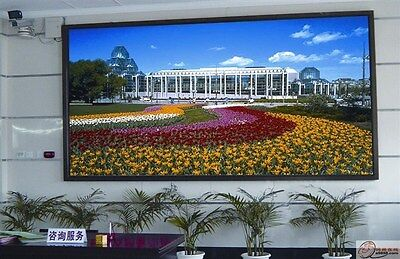 "RGB full color 78""x42"" 4mm LED Sign Programmable Scrolling Message Display video"