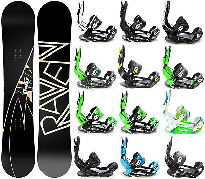 Snowboard Raven Element Carbon + Raven, Rage oder Pathron Fastec Bindung - Neu!
