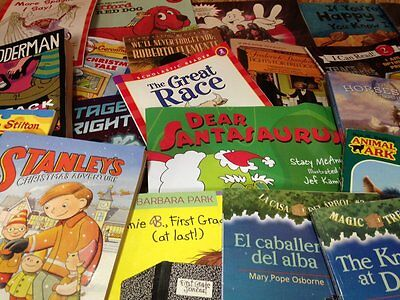 100 Children's Chapter Books .59 each Free Shipping