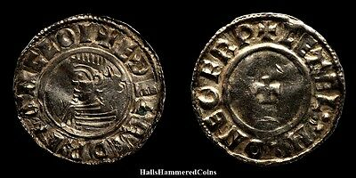 Aethelred II Last Small Cross Type Penny - York Mint (HHC3139)
