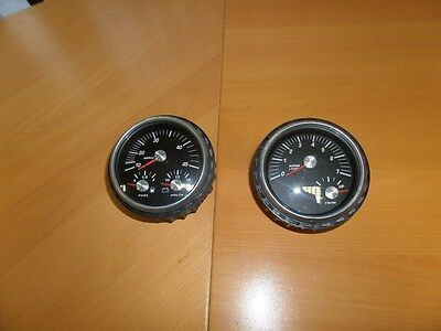 Faria 5 Inch  Tacho /trimmeter And Speedo/fuel/ Volts Meter  Inboard Outboard