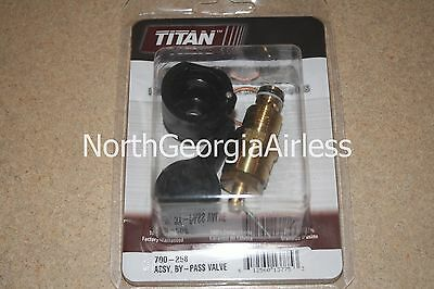 Titan 700-258 By-Pass Valve Assembly *OEM* 700258 for Titan 440 and 640