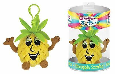 Kaumana Wanna Smellya Pineapple Scented Plush Toy Backpack Clip Whiffer Sniffers