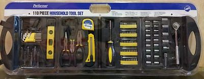 Brand New Performer 110 piece Household Tool Set !