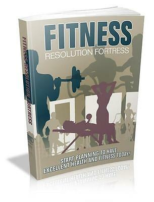 Fitness Resolution Fortress Ebook On CD $5.95 Plus Resale Rights Free Shipping
