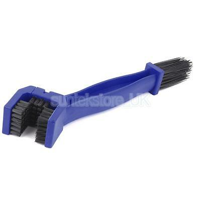 Motorbike Scooter Motorcycle Bike Chain 2-Sided Cleaning Brush Tool Cleaner