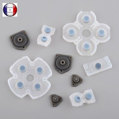 Boutons Silicone Manette Ps4 (kit 9 pieces) JDS 001 / JDS 011