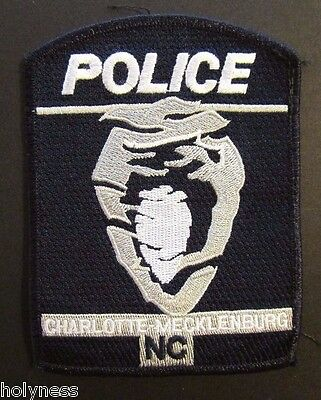 Vintage Obsolete Patch / Charlotte / Meckleburg Police / North Carolina
