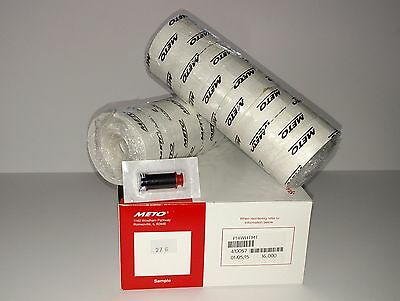 Meto Primark P14 L14 1 line White labels 16000 + ink roller