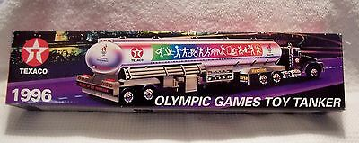 1996 Texaco Olympic Games Toy Tanker Plastic