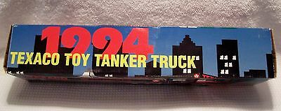 1994 Texaco Toy Tanker Truck - Lights & Sounds - 1st in Series - Gasoline - NIB
