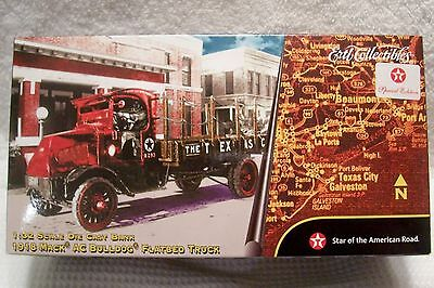 2001 Texaco 1918 Mack Ac Bulldog Flatbed Truck  Bank Special Edition