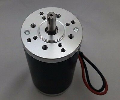 NEW 12V-DC 10000-RPM High-Speed Electrical-Motor Project Keyed-Shaft 1/4-HP 200W
