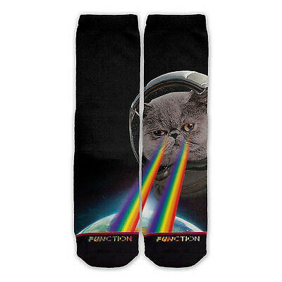40fa98f40885d Function - Astronaut Cat in Space Printed Sock novelty socks sublimation  socks