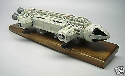 Eagle Transporter Space 1999 Spacecraft Mahogany Kiln Dry Wood Model Large New
