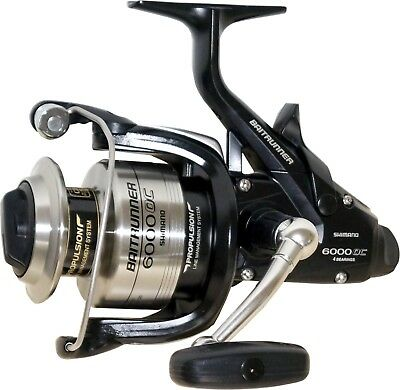 Shimano USA Baitrunner 6000 Oceanic Freilaufrolle mit Frontbremse