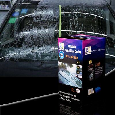 Nano Hydrophobic Glass Coating Rain and Water Repellent Coating for Auto Glass