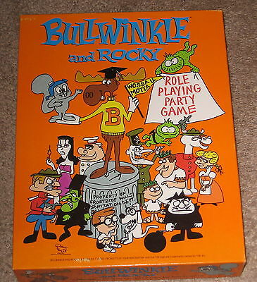 TSR Bullwinkle And Rocky Role Playing Game