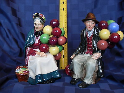 Royal Doulton  The Balloon Man and The Old Baloon Seller  ( aka Balloon Woman )
