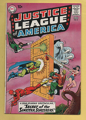 Justice League of America #2 DC Comics 1960 Fox/Sekowsky FN+