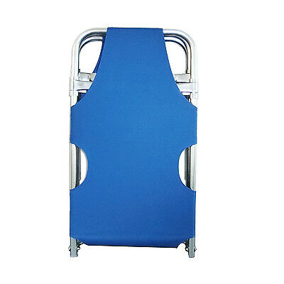 Aluminum folding stretcher portable medical field stretcher The Front  Can Rised