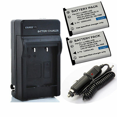 Battery Or Charger for Nikon Coolpix S200 S203 S210 S220 S225 S230 S3000 S4000
