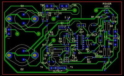 Electronic bespoke circuit boards & custom made PCB prototype service in the UK