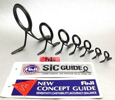 Fuji Silicone Carbide SIC Guide Fishing Rod Building Component SVSG Double Leg