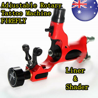 Adjustable Liner Shader Rotary / Moto Tattoo  Machine Gun FIREFLY STYLE
