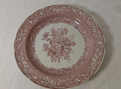 """Spode Victorian Series 'Byron Groups' 10"""" Dinner Plate, Price Reduced"""