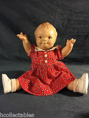 Vintage 1930's Rose O'Neill Cameo Large Scootles 15in Composition Doll