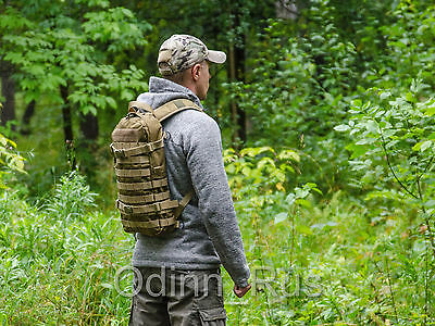 """Russian Tactical MOLLE Backpack """"Dingo"""" Urban Style (Coyote Brown)"""