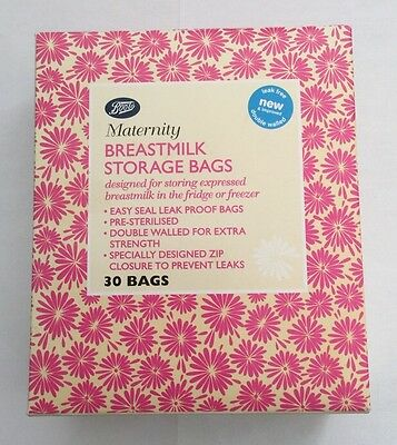 Boots Maternity Breastmilk Storage Bags ( 30 Bags )