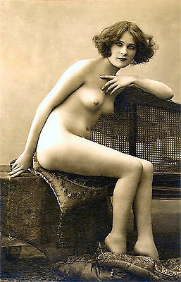 A4 Vintage 1920's Art Deco Pretty Nude Girls ..Victorian/Edwardian Beauties 237
