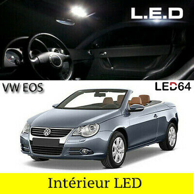 kit ampoules led blanc lumi re led int rieur pour volkswagen eos i eur 19 90 picclick nl. Black Bedroom Furniture Sets. Home Design Ideas