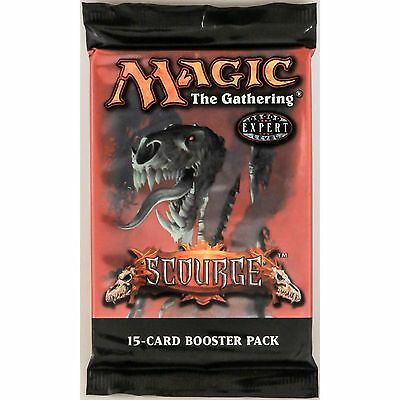 MTG: SCOURGE Sealed Booster Pack - Magic the Gathering - Onslaught Block
