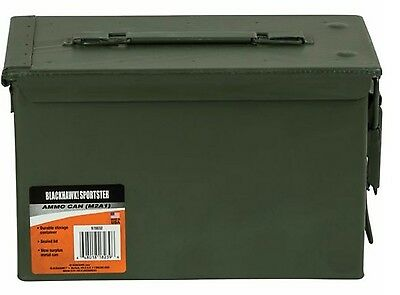 TWO 50cal M2A1 Military Ammo Can box chest, New Blackhawk Sportster