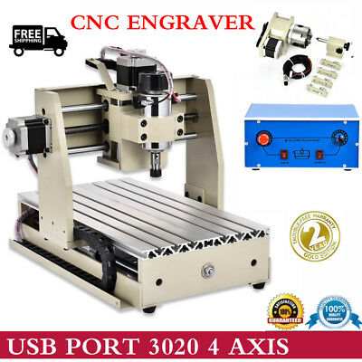 CNC 2015T 3 AXIS Router Engraver/Engraving Drilling Milling Machine Carving USA
