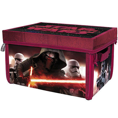 Star Wars - Collapsible Toy Box - Zip Up - Play Mat