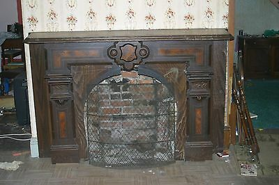 Antique Slate Fireplace Circa 1880s